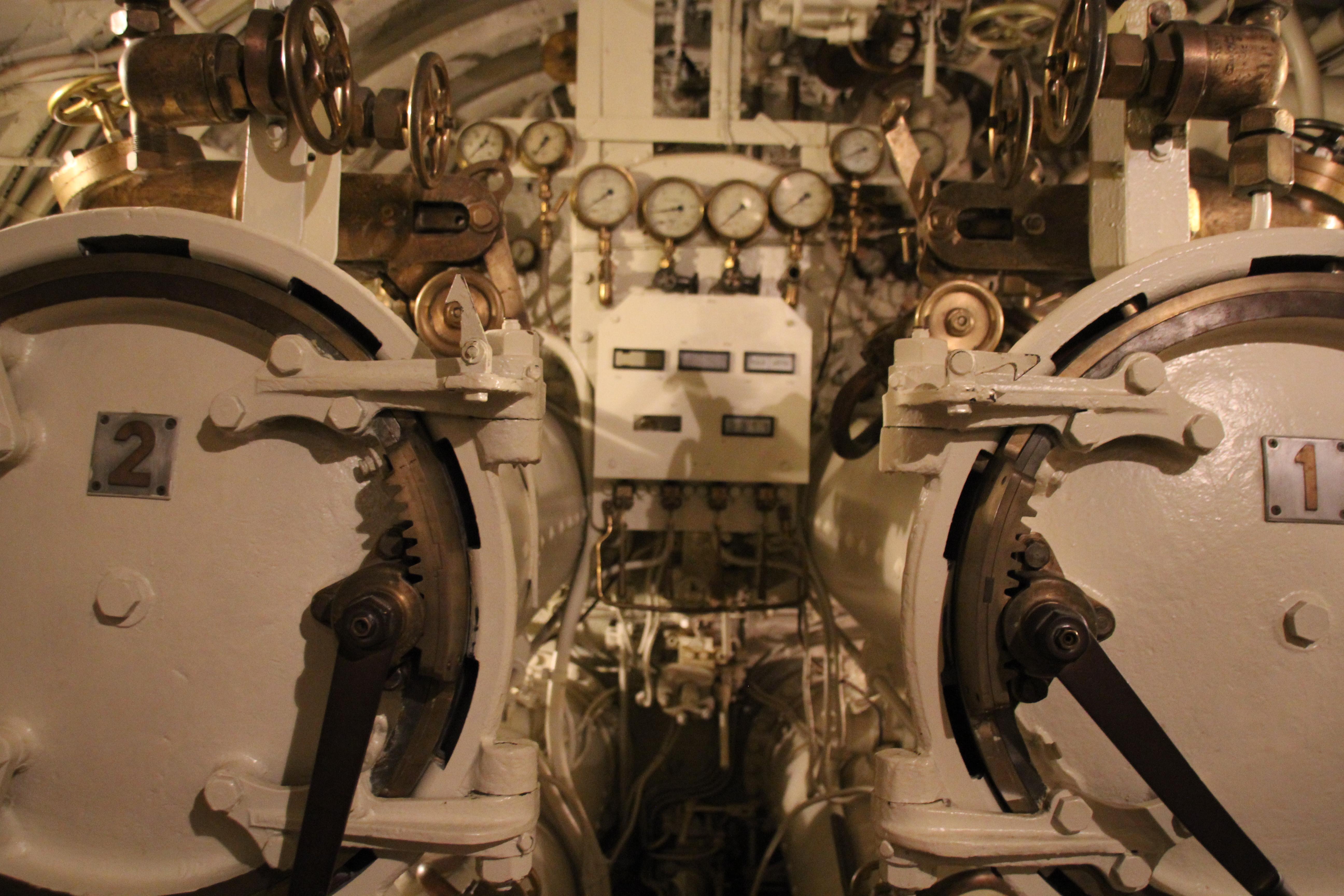 Die Maschine des U-Boots